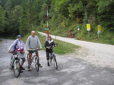 Bikers in Europe