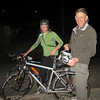 Fraser and Meg, from Australia, on a 6 week bike tour. Met them at dinner in Calacuccio