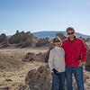 Bob and jan at the Trona Pinnacles
