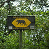Seen walking to the Monteverde park entrance