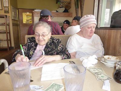 14_Mom and Linda at the Shack