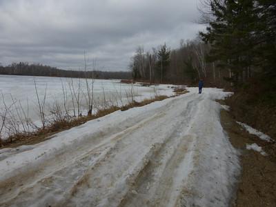 19_The road by Shuckhart Lake