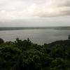Laguna de Apoyo - with Lake Nicaragua in teh background