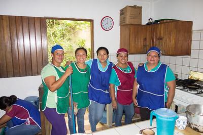 The kitchen staff