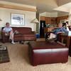 Linda and John enjoying Eagle Crest accommodations