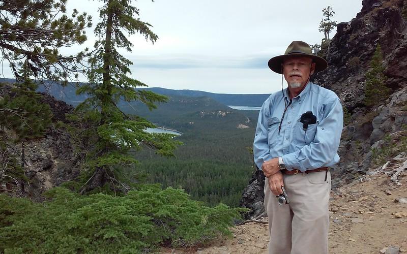 John on Paulina Peak Trail