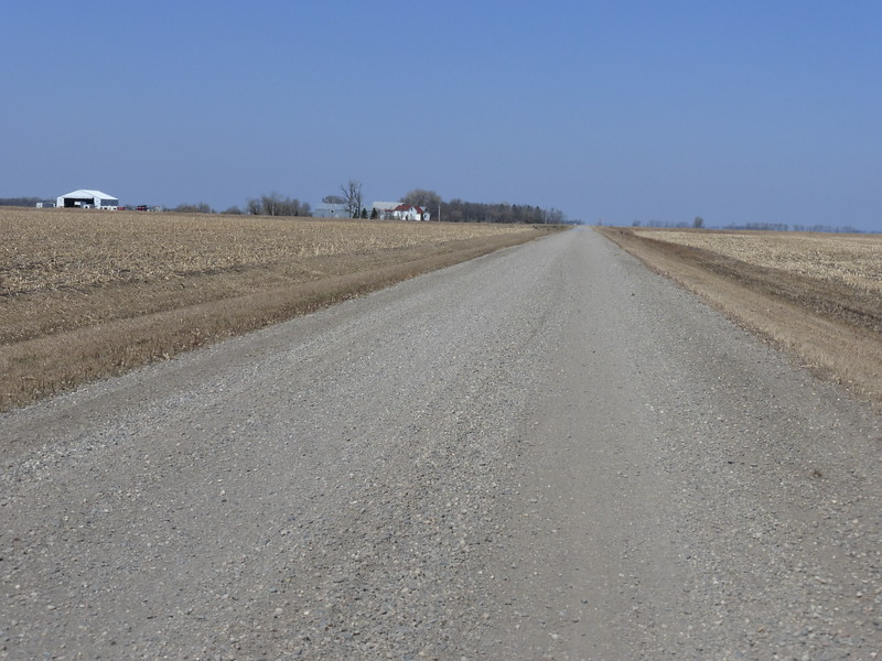 Long dusty road to Georgetown house