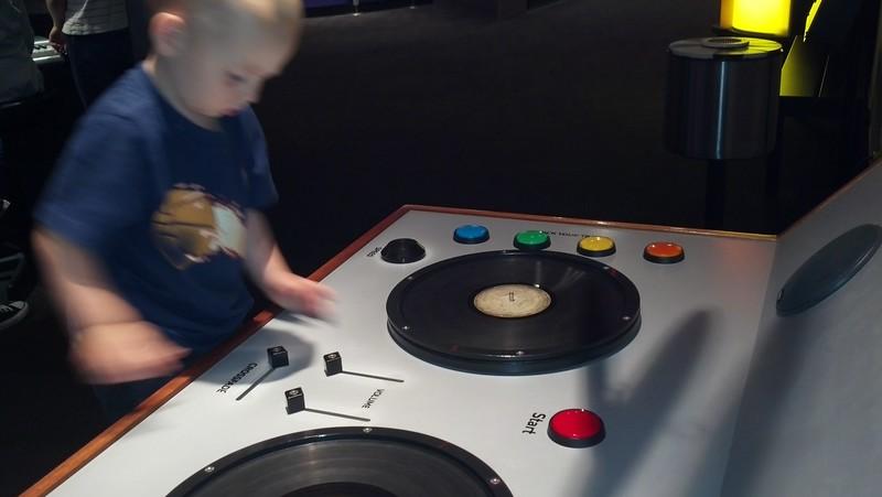 Otto the DJ.