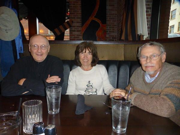 Jim, Shirley, and John