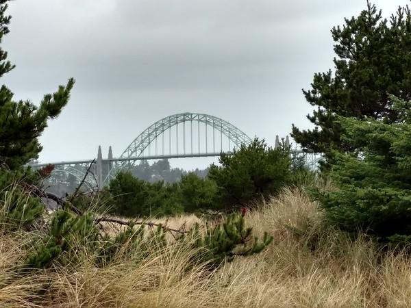 Newport Bridge from South Beach