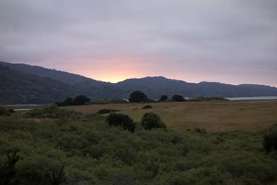 Sunset view from Black Heron Inn