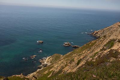 Shore near lighthouse point