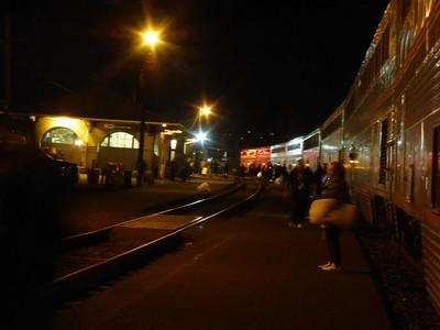 Klamath Falls Amtrak Station