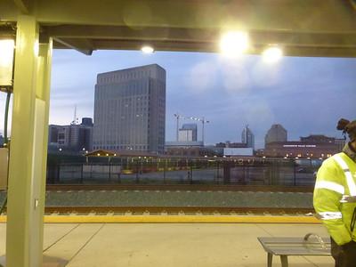 Sacramento Amtrak Station early morning