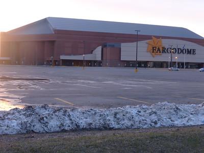 Snow found on a walk in north Fargo