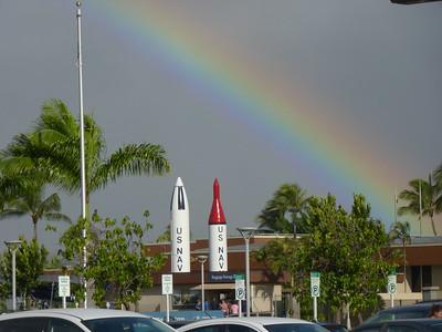 Rainbow over Pearl Harbor