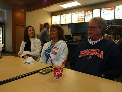 Andrea, Sue, and Wally at the DQ