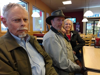 John, Paul, and Sally at the DQ