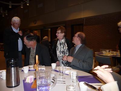 Orlean, Paul, Joanne (friend of Mae), and Al