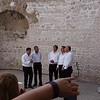 A Capella singers in Diocletian Palace in Split, Croatia