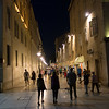 Split Streets at night