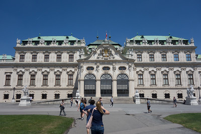 Belvedere Palace and Botanical gardens