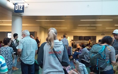 To Stockholm via PDX & LAX