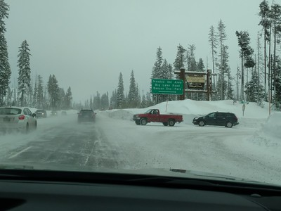 HooDoo Ski Area near Santiam Pass