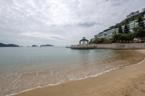Repulse Bay, a quiet spot. You could imagine the scene in summer.