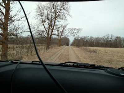 Exploring the back roads by Jeep