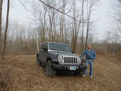 Al and his Jeep