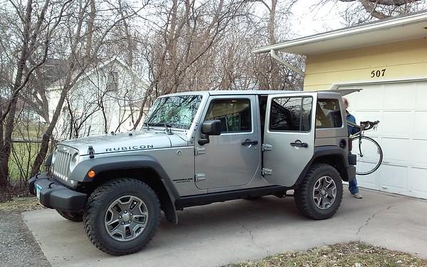 Als new Jeep Rubicon