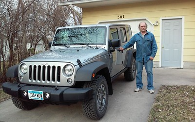 Al and his new vehicle