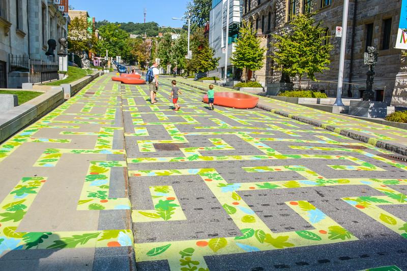 the street maze
