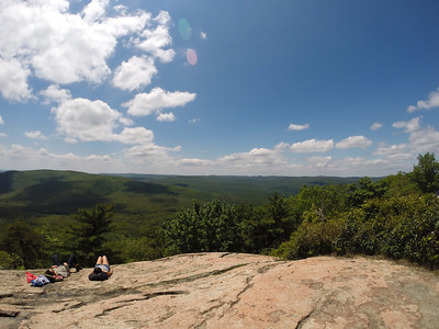 View from the Bear Mountain Peak