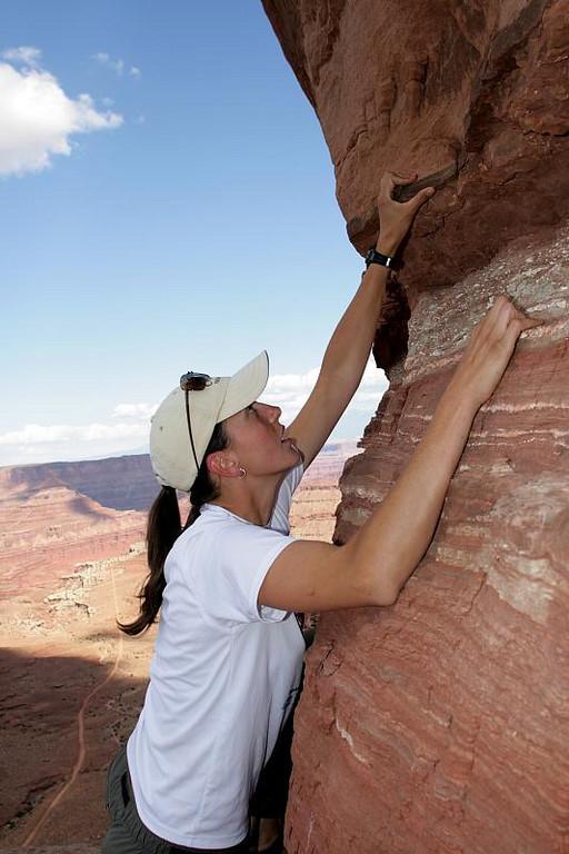 The Climber. Model: April Marcangeli