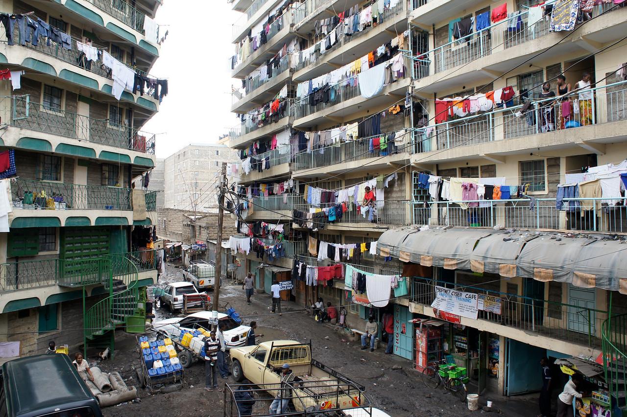 Nairobi suburb.