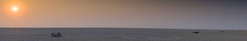 Kalahari Sunrise - near San Camp