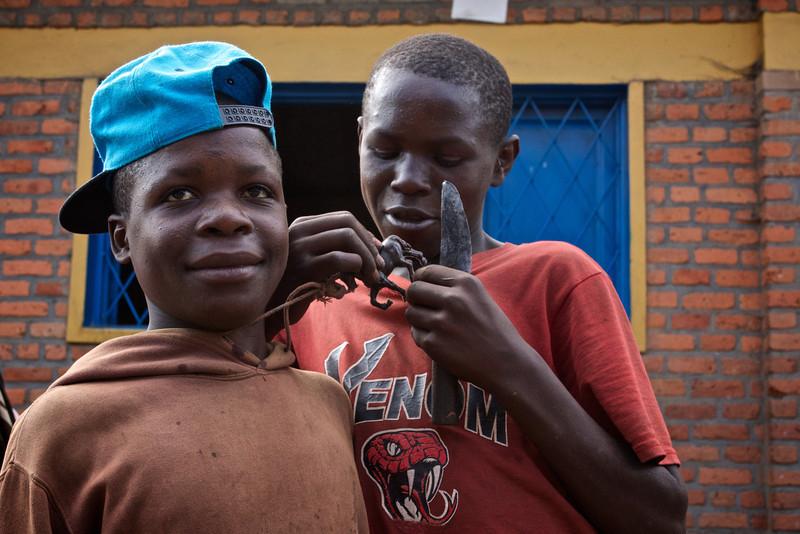 Young Men Marketplace Northern Rwanda