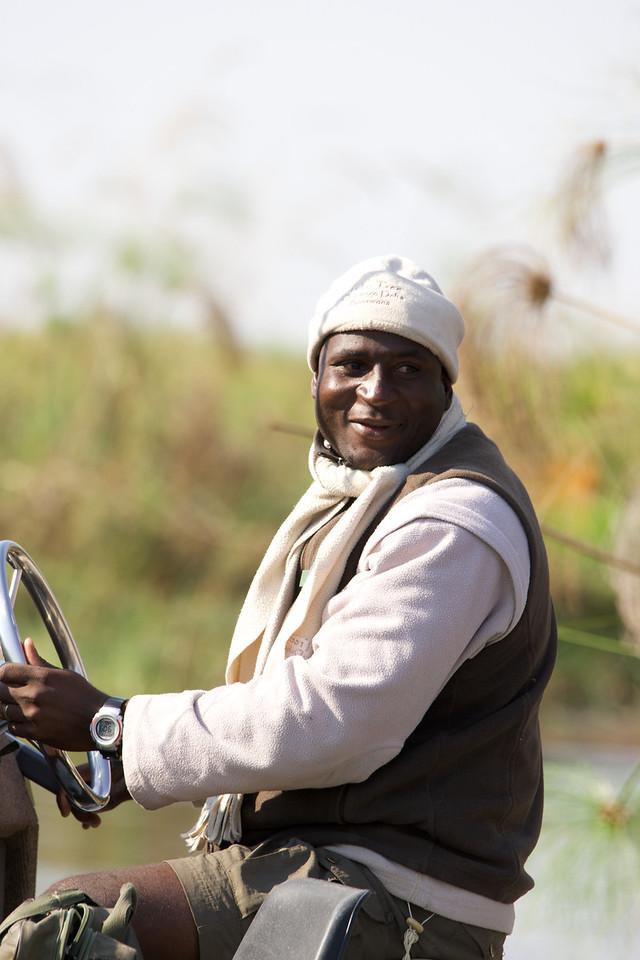 Boat handler and guide - Jacana Camp