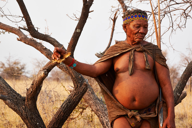 Leader of San Tribe