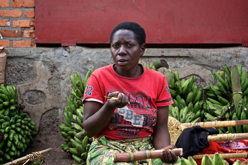 Sugar Cane and Bananas for Sale