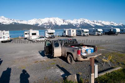 Seward - Camping on the Bay