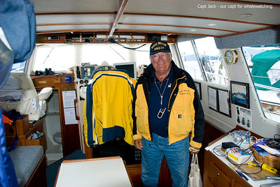 Captain Jack - a fantastic guy and great captain - he's the best - M/V Scania