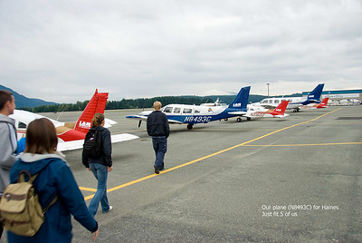 Our single engine plane