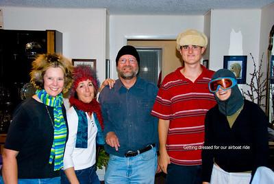 The crew - Jacque, Jan, Ron, Evan, and Mackenzie