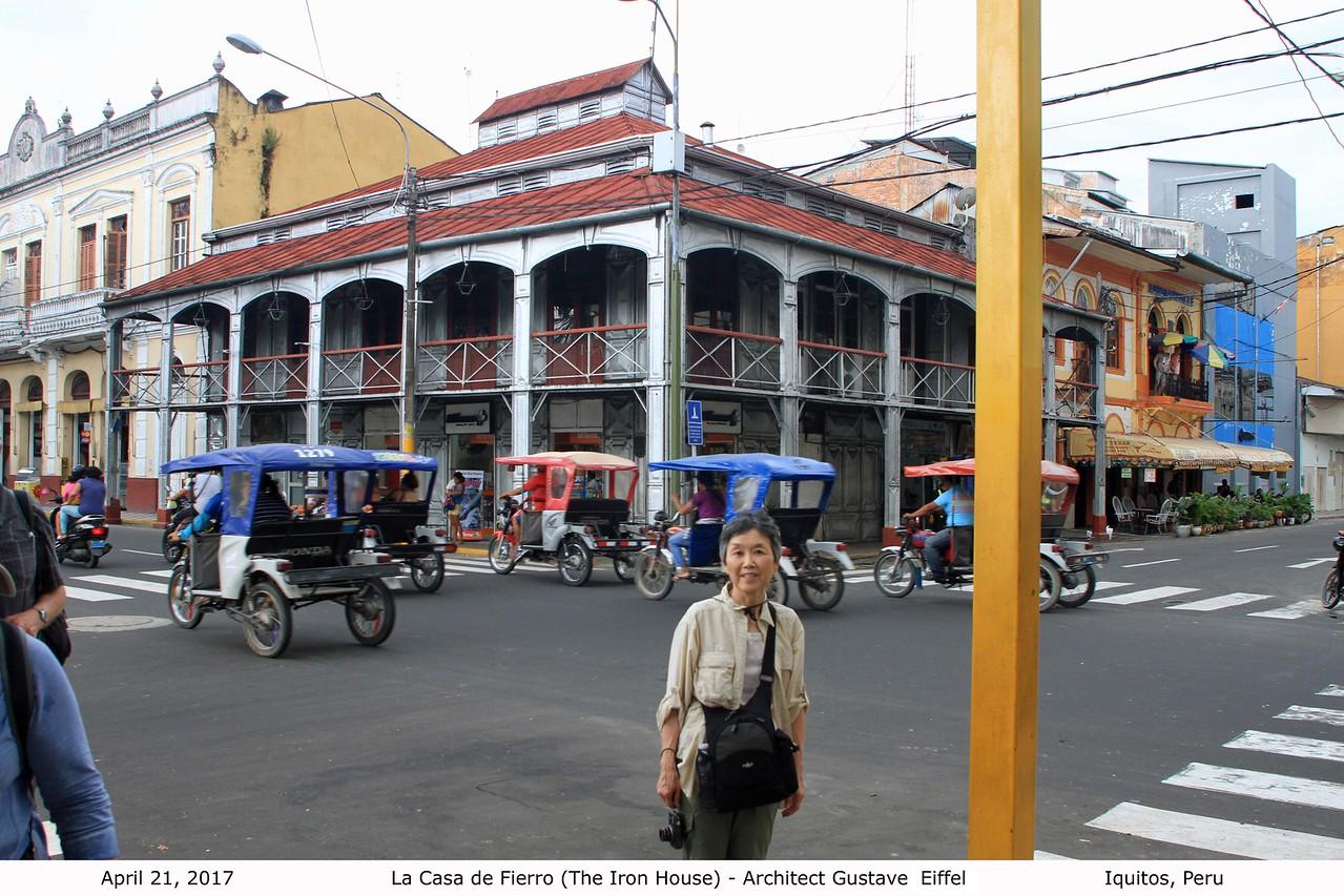 La Casa de Fierro (The Iron House) - Architect Gustave Eiffel, Iquitos
