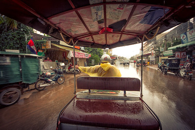 Rain in Siem Reap