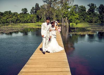 Marriage at Neak Pean