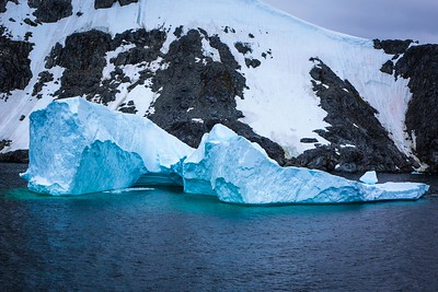 BLUE ICEBERG, LEMAIRE CHANNEL